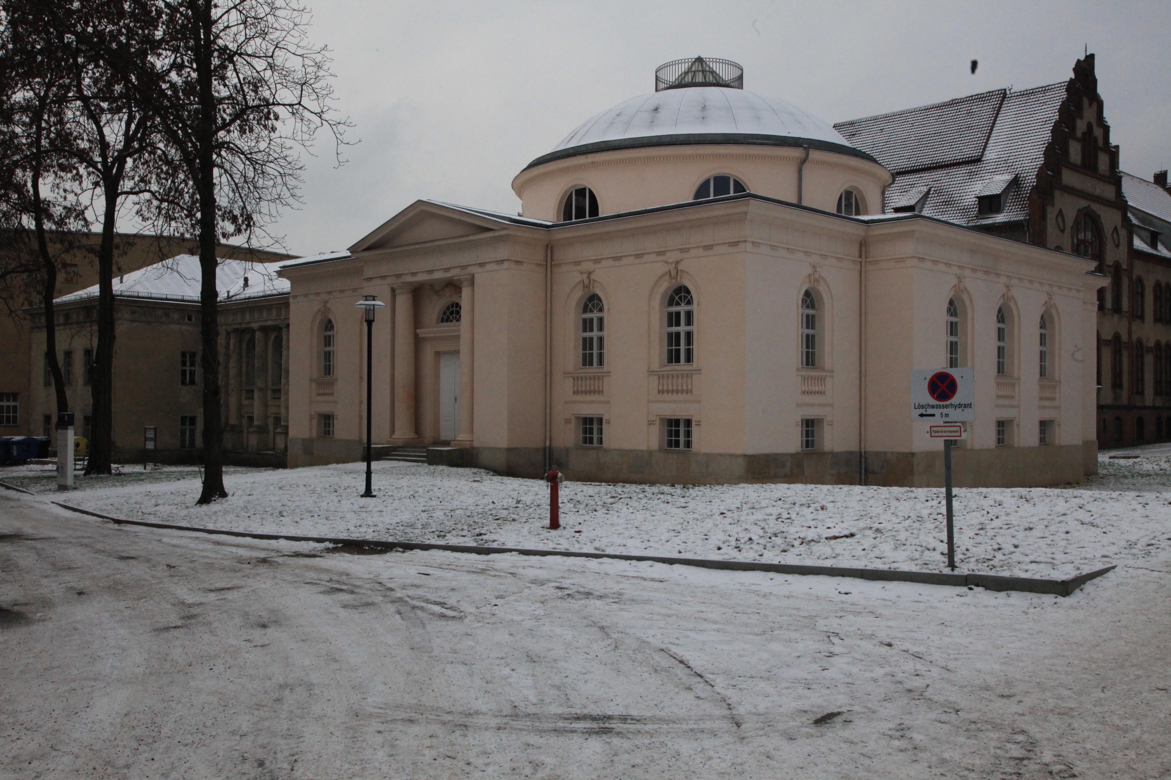 Tieranatomisches Theater Außenansicht 2013