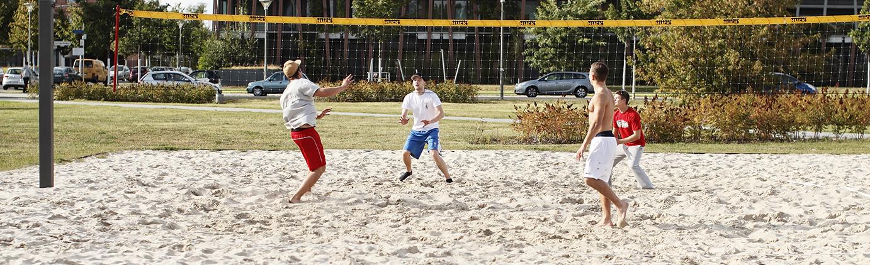 Beachvolleyballspieler