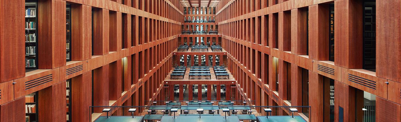Leeres Grimm-Zentrum UB