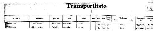 Alice Markiewicz Transport