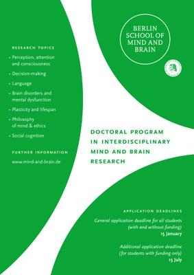 Plakat School of Mind and Brain