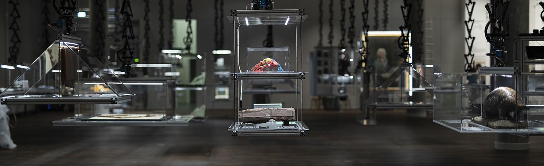 Ausstellungsraum Humboldt Labor